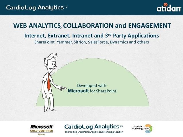 WEB ANALYTICS PORTAL ADOPTION USER ENGAGEMENTWEB ANALYTICS PORTAL ADOPTION USER ENGAGEMENT Developed with Microsoft for Sh...