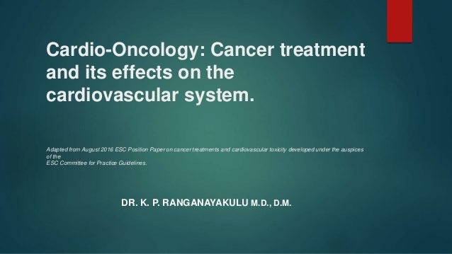 Cardio Oncology