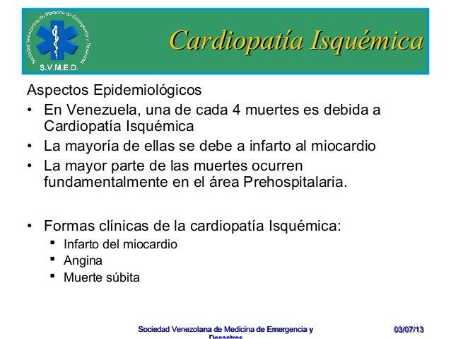 Cardiopatia isquemica y factores de riesgo