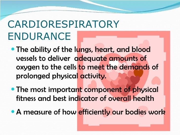 cardiorespiratory endurance essay