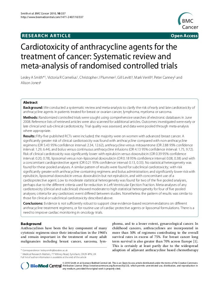 Smith et al. BMC Cancer 2010, 10:337http://www.biomedcentral.com/1471-2407/10/337    RESEARCH ARTICLE                     ...