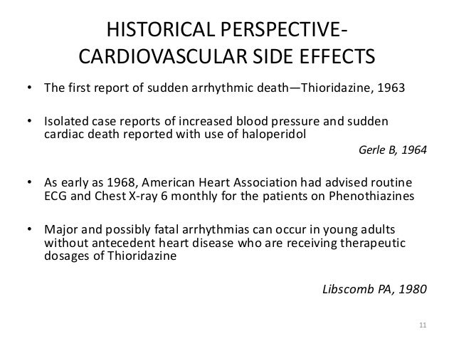 Ziprasidone Cardiac Side Effects