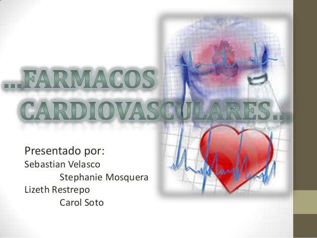 Presentado por: Sebastian Velasco Stephanie Mosquera Lizeth Restrepo Carol Soto