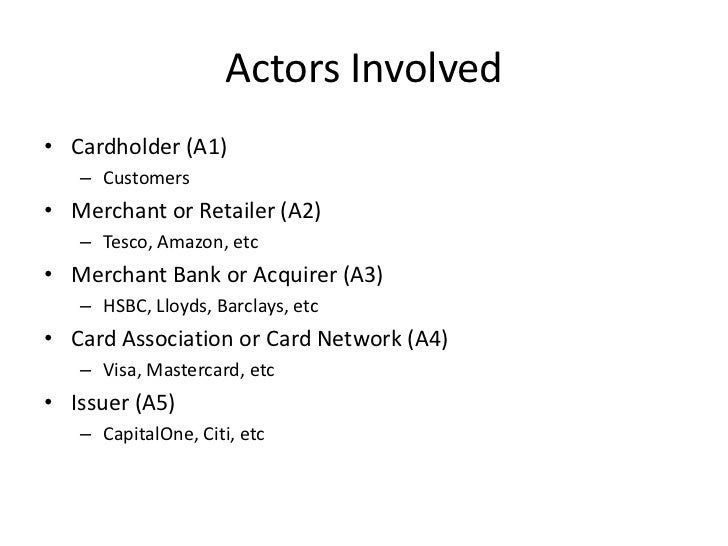 Card Payments Processing - Security