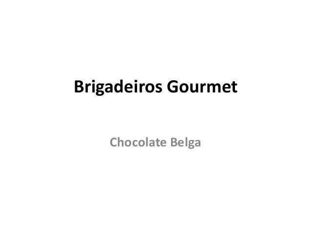 Brigadeiro ao leiteTradicional brigadeiro ao leitefeito com chocolate belga