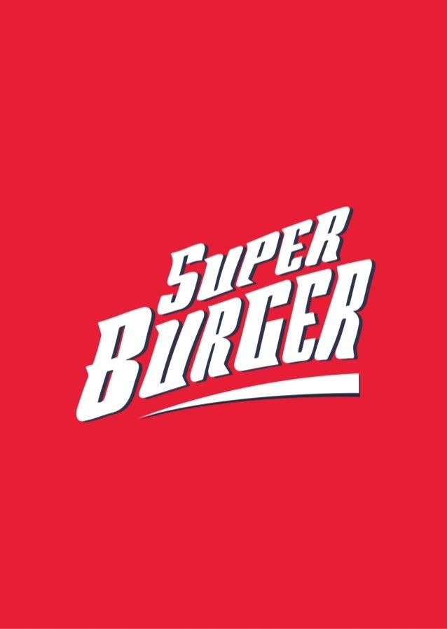 Cardápio Super Burger