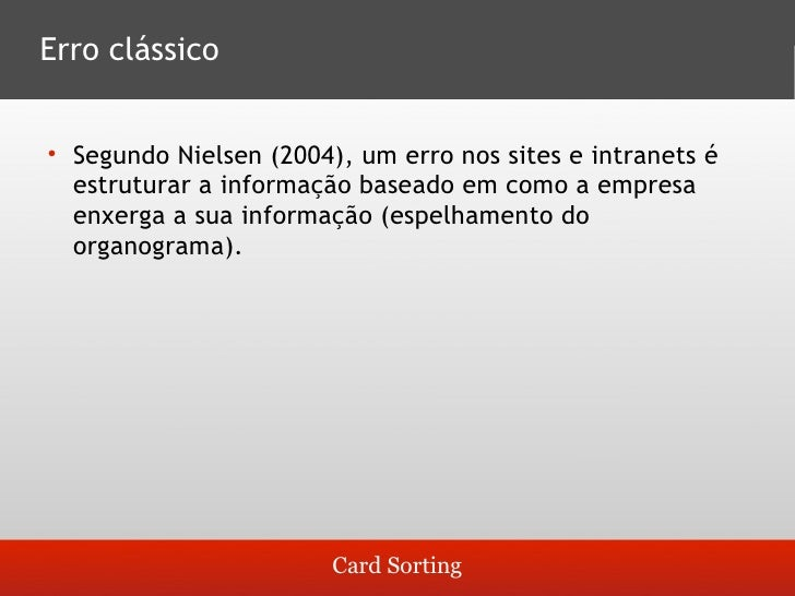 Análise dos resultados   1.Observar qual é o esquema dominante        Ex.: se for um site de receitas, a maior parte de su...
