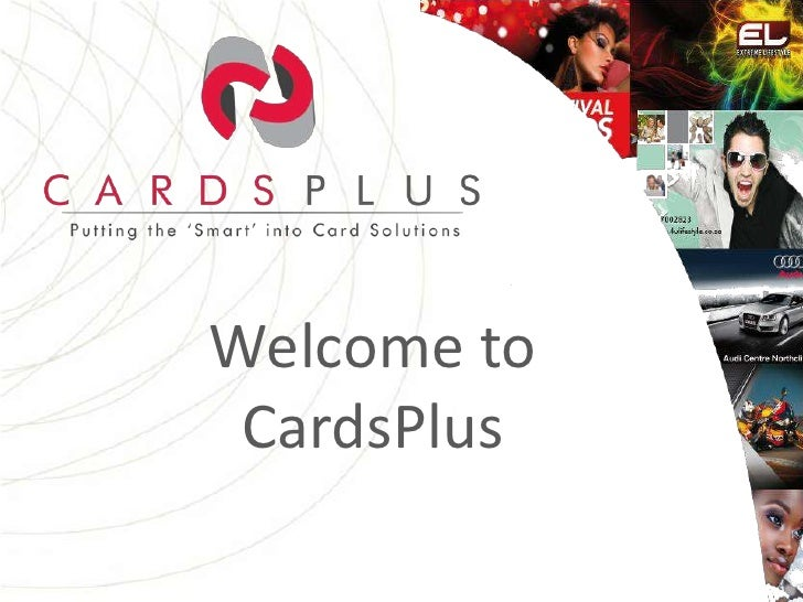 Welcome to CardsPlus <br />