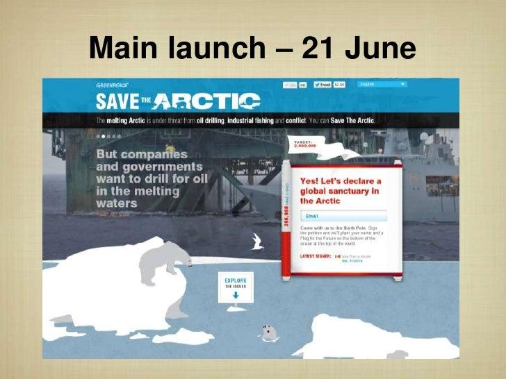 Main launch – 21 June