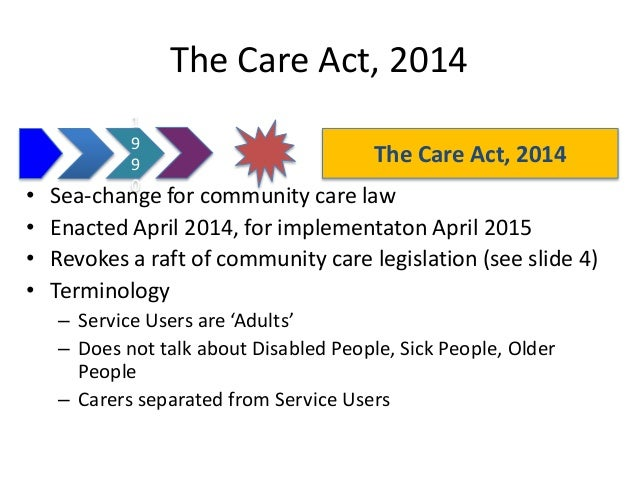 nhs and community care act 1990 essay Changes to legislation: national health service and community care act 1990, section 47 is up to date with all changes known to be in force on or before 11 june 2018.