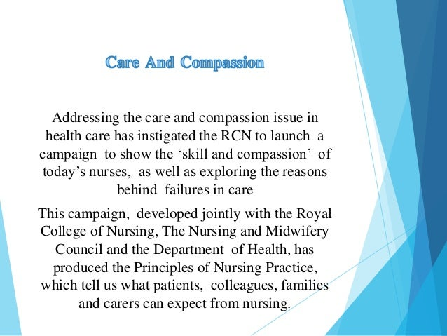 care and compassion in nursing