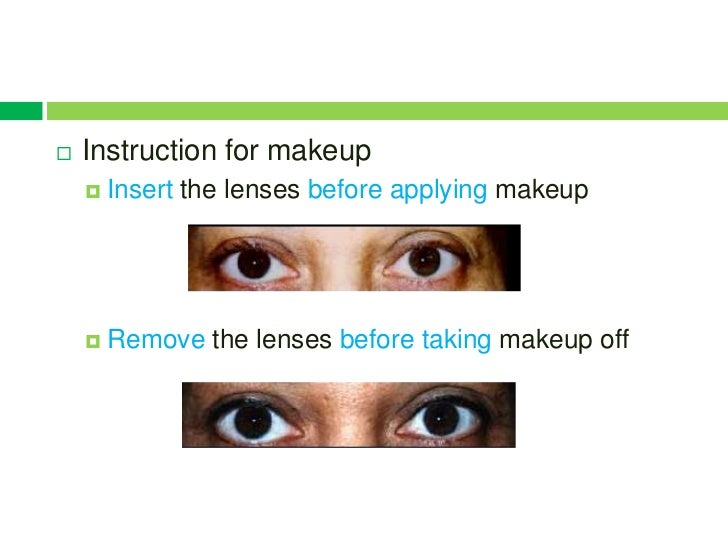 how to put in and remove contact lenses