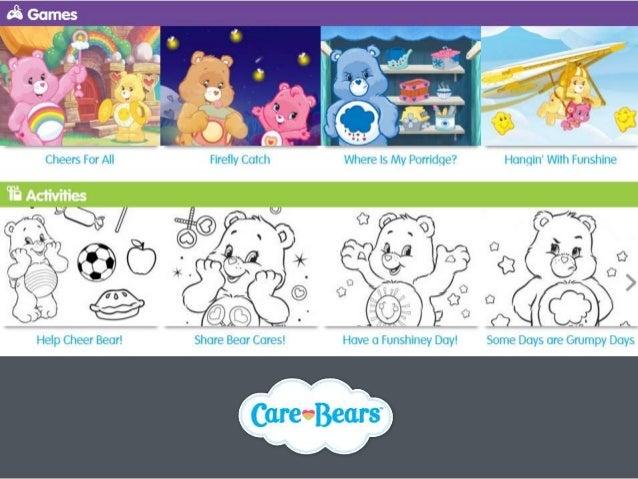 Website Development & Social Media for the famous international brand Care Bears Slide 3