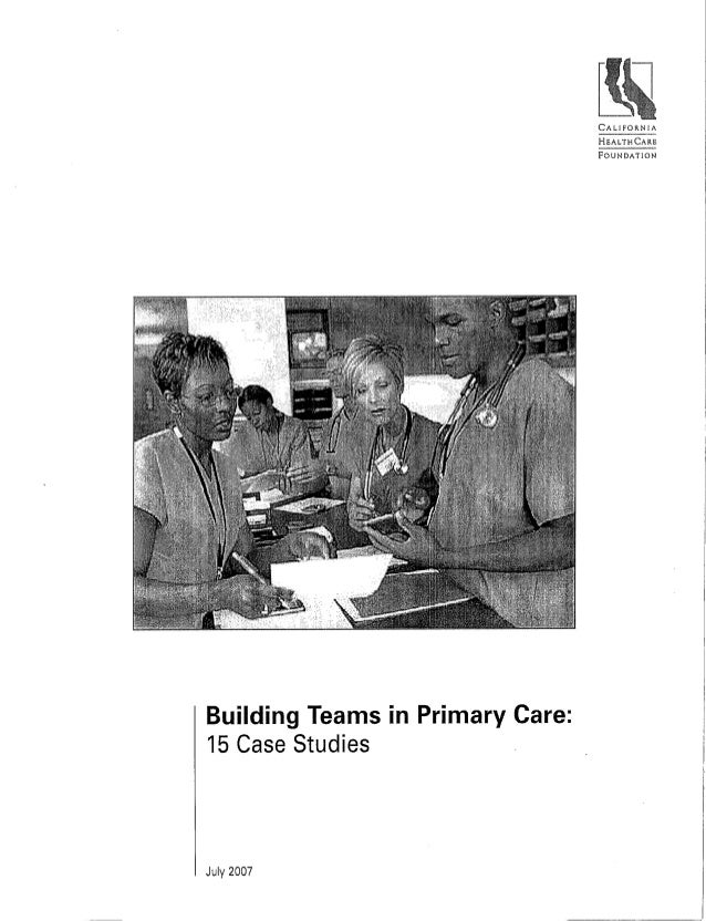 Care by design 2 bodenheimer teams 2 utah chapter