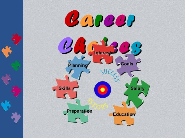 CareerChoices          Interest    Planning                   GoalsSkills                             Salary   Preparation...