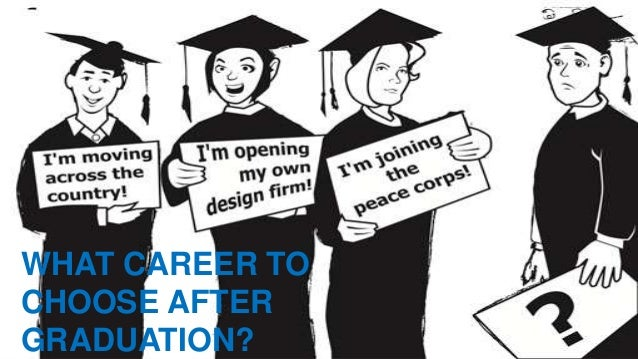 answer to what career to select after graduation