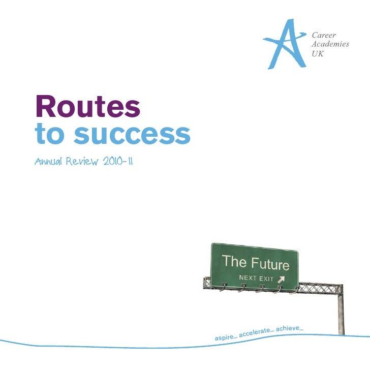Routesto successAnnual Review 2010-11                                                    eve...                           ...