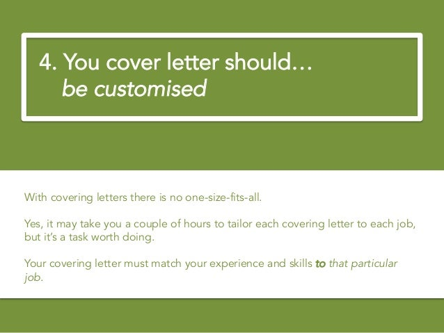 Career Advice How To Write The Perfect Covering Letter