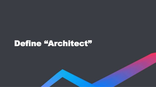 Career Advice for Architects  Slide 2