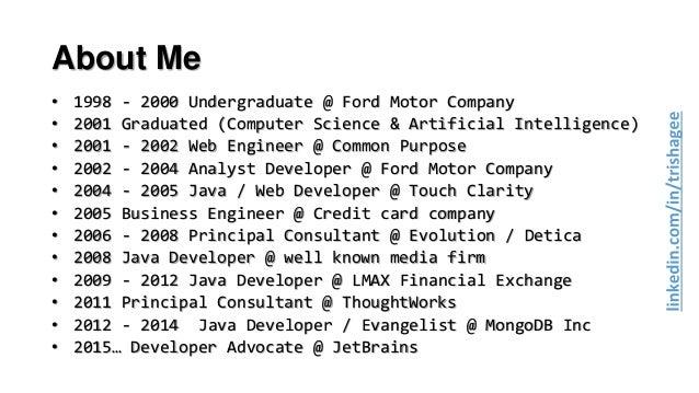 Career Advice for Programmers  Slide 3