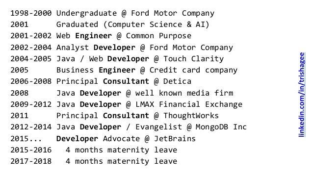 Career Advice for Programmers - ProgNET London Slide 2