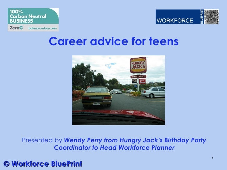 Career advice for teens v01 18612 wp career advice for teens presented by wendy perry from hungry jacks birthday party coordinator malvernweather Choice Image