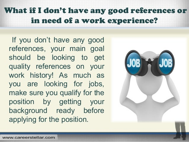 good references for jobs