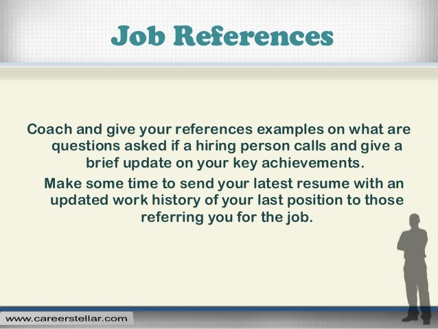 job references examples