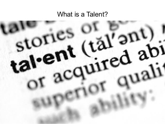 What is a Talent?  Talent and Career Building Mohammad Tawfik  #WikiCourses http://WikiCourses.WikiSpaces.com