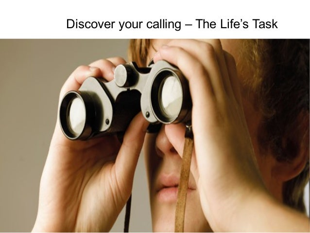 Discover your calling – The Life's Task  Talent and Career Building Mohammad Tawfik  #WikiCourses http://WikiCourses.WikiS...