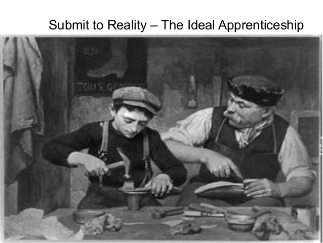 Submit to Reality – The Ideal Apprenticeship  Talent and Career Building Mohammad Tawfik  #WikiCourses http://WikiCourses....
