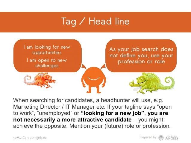Tag / Head line Tag / Head line @CareerAngels.eu @Career_Angels_Team@Career Angels LI mistake #31 I am looking for new opp...