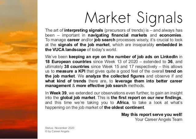 The art of interpreting signals (precursors of trends) is – and always has been – important in navigating financial market...