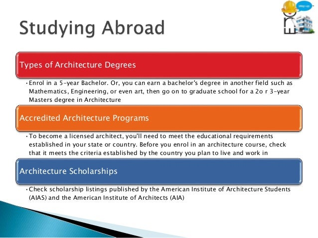 ... 9. Types Of Architecture Degrees ...