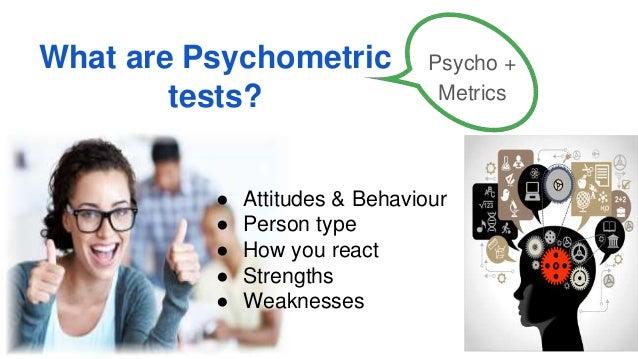 use of psychometric testing
