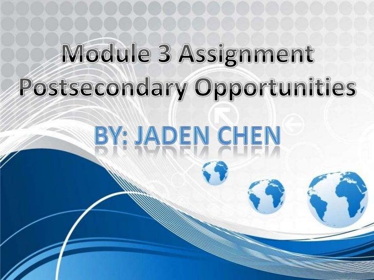 Career Assignment Powerpoint Final