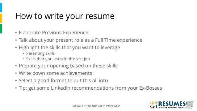 ... Interview; 6. How To Write Your Resume ...