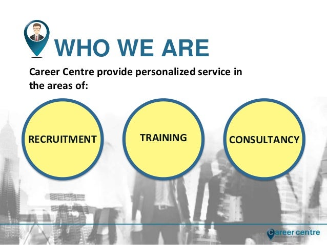 Career centre training company profile
