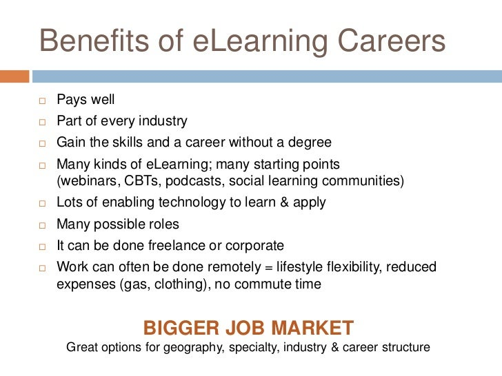 Elearning Roles What S Your Dream