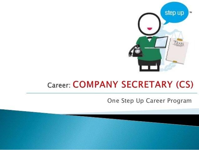 One Step Up Career Program