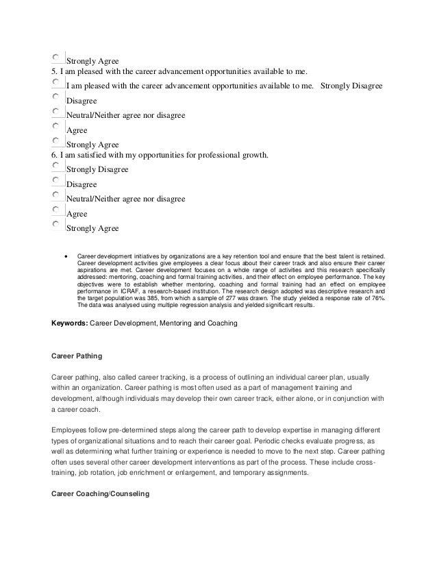 employee developmentCareer counseling