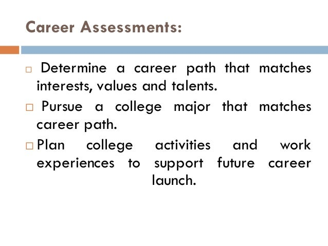 Career counselling Slide 3