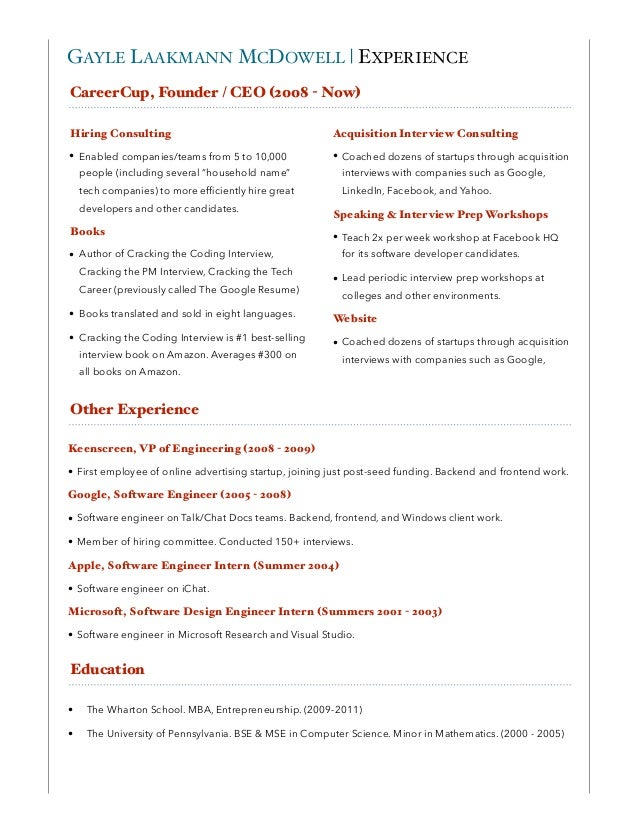 CareerCup Consulting Info Packet