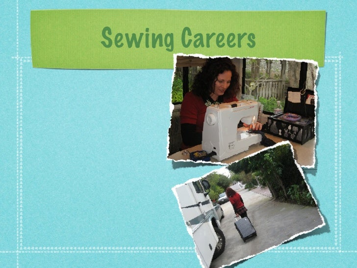 Sewing Careers