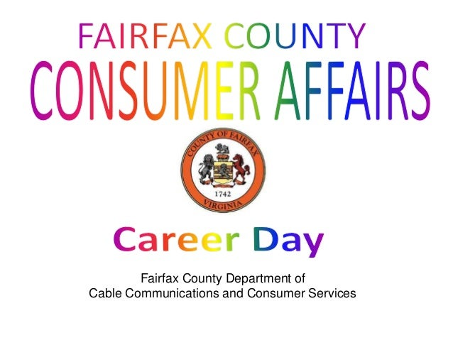 Fairfax County Department of Cable Communications and Consumer Services