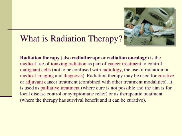 Career day, Become a Radiation Therapist