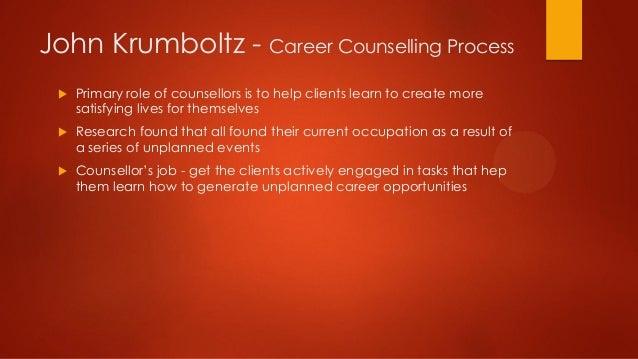 ... Terminated; 15. John Krumboltz   Career Counselling ...