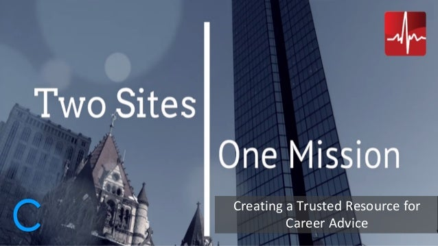 Creating a Trusted Resource for Career Advice