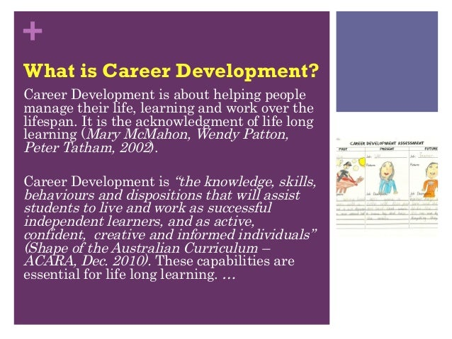 Career education in grade 2 and 3 2 what is career development malvernweather Images