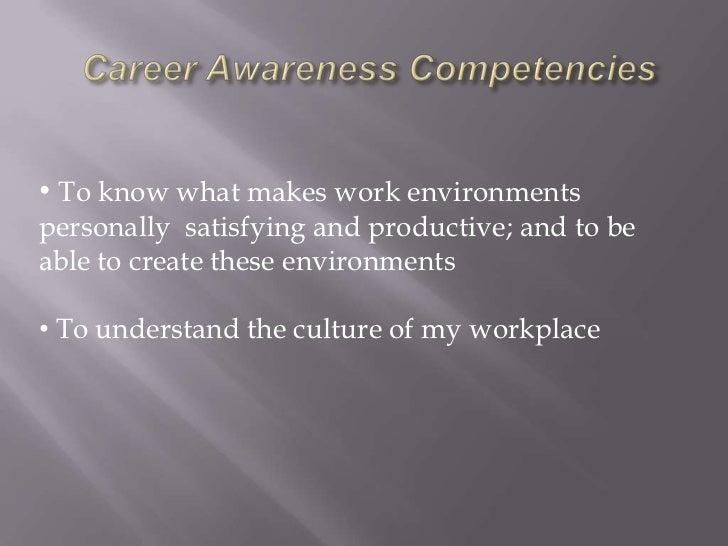 Intro to Career Awareness